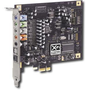 Placa de sunet CREATIVE,X-Fi SB0880 ;(5.1); PCI-E