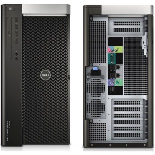 Dell, PRECISION T7610,  Intel Xeon E5-2630 v2, 2.60 GHz, HDD: 1000 GB, RAM: 24 GB, video: nVIDIA Quadro 4000; TOWER