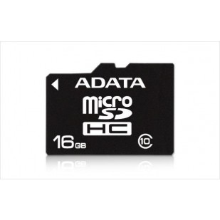 Secure Digital Card micro SDHC 16GB class10 ADATA (AUSDH16GUICL10-R)