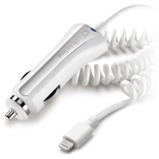 Alimentator auto iPhone 5, White (CBRMFIIPH5W)