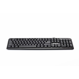 Tastatura SPACER SPKB-520, USB, 104 taste, US layout, Black (SPKB-520)