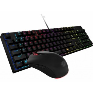 "GAMING KIT COOLER MASTER ""MasterKeys Lite L Combo"" RGB LED, switch-uri mem-chanical, mouse 3500DPI (SGB-3040-KKMF1-US)"