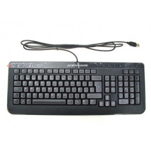 "Tastatura ALIENWARE; layout: SPN; NEGRU; USB; MULTIMEDIA; ""6MY1T"""