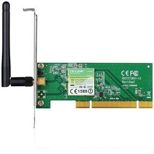 PLACA DE RETEA: TP-LINK TL-WN751ND; WIRELESS 150 Mbps; PCI