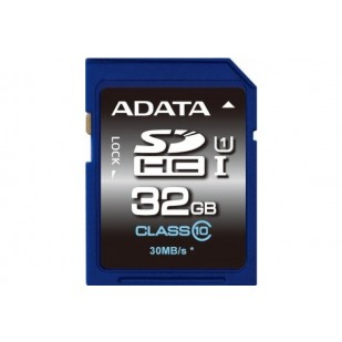 SD CARD ADATA; model: ASDH32GUICL10-R; capacitate: 32 GB; clasa: 10; culoare: NEGRU