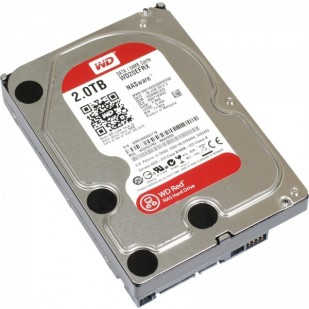 HDD 2TB RED 64MB S-ATA3  2EFRX WD (WD20EFRX )