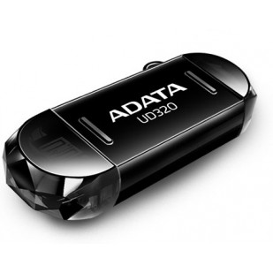 USB 2.0 32GB ADATA UD320 On-The-Go Black (AUD320-32G-RBK)