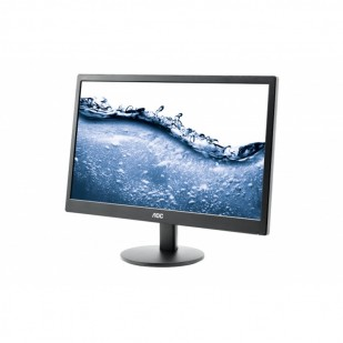 "Monitor   AOC 19.5"" LED Rez. 1600x900, 5ms, 200cd/mp (E2070SWN)"