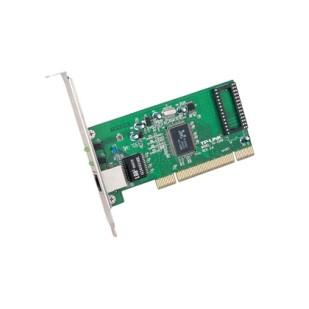 Placa de retea PCI 32-biti, rata de transfer 10/100/1000Mbps, wired cu port de retea RJ-45 si un slot Bootrom, standarde iEEE 802.3/u/ab/3x/1q/1p, cu LED-uri, TP-LINK (TG-3269)