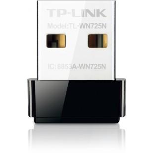 Adaptor Wireless N USB 150Mbps, nano, TP-LINK TL-WN725N