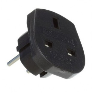 ADAPTOR 3 PIN UK LA 2 PIN EURO , FARA IMPAMANTARE 250V/10A  MF5369
