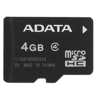 MICRO SD CARD 4 GB ADATA CLASS4