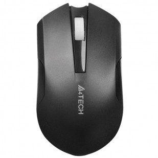 MOUSE A4TECH G11 Wreless 2.4G, V-track Padless, Li-Ion rechargable, Black (G11-200N)