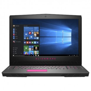 Laptop ALIENWARE, 17 R4, Intel Core i7-6700HQ, 2.60 GHz, HDD: 256 SSD, RAM: 16 GB, video: Intel HD Graphics 530, nVIDIA GeForce GTX 1070, webcam