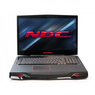 Laptop ALIENWARE, M18XR2,  Intel Core i7-3610QM, 2.30 GHz, HDD: 128 GB, RAM: 16 GB, unitate optica: DVD RW BD, video: nVIDIA GeForce GTX 675M, webcam, BT
