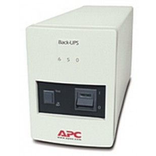 UPS APC; model: BK650MI 650VA; format: TOWER; iesiri: 4; baterii NOI; stare: NOU