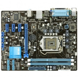 Placa de baza asus INTEL H61 ; model : P8H61-M/LX/REV3.0