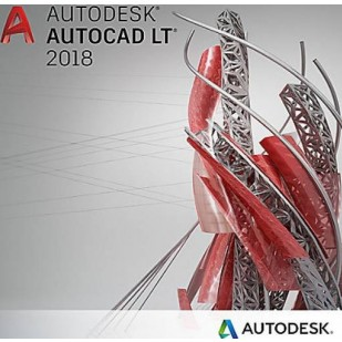 Autodesk AutoCAD LT 2018 Commercial New Single-user ELD 3-Year Subscription