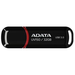 USB STICK ADATA, model: AUV150-32G-RRD, capacitate: 32 GB, culoare: NEGRU, USB 3.1