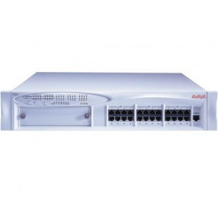 "SWITCH cu management, AVAYA model: P333T; PORTURI: 24 x RJ-45 10/100; 2 x GBIC ; ""108563123""; SH"