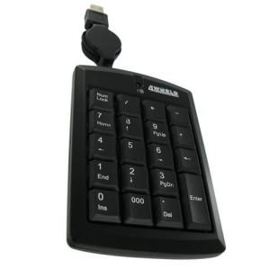 Tastatura 4WORLD; model: SUPER MINI; layout: NUM; BLACK; USB