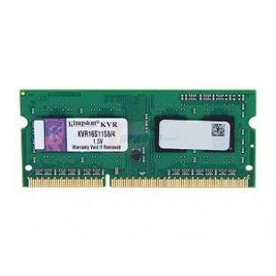 SODIMM KINGSTON  DDR3/1600 4096M  (KVR16S11S8/4)