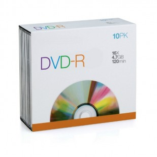 Blank DVD-R SPACER 25PACK