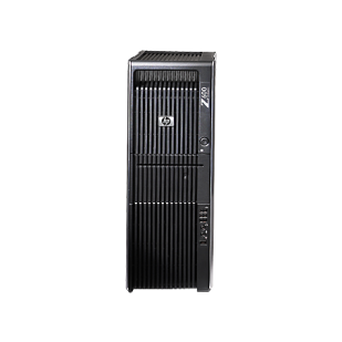 HP, Z600 WORKSTATION, 2x  Intel Xeon E5530, 2.40 GHz, HDD: 160 GB, RAM: 16 GB, unitate optica: DVD RW, video: nVIDIA Quadro 600