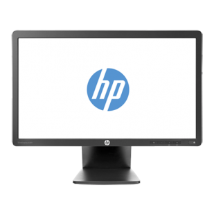 "Monitor HP; 20""; model: E201; factory refurbished"