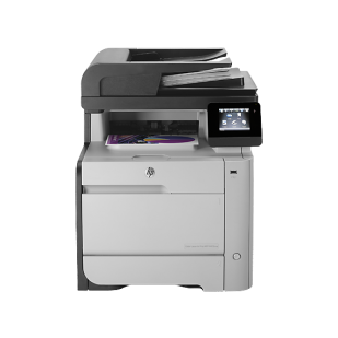 Multifunctional LASER COLOR HP model: MFP M476NW; format: A4; RETEA; USB; NOU;