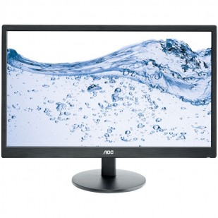 "MONITOR AOC 23.6"" LED, 1920x1080, 5ms, 250cd/mp, vga+hdmix2 (E2470SWHE)"