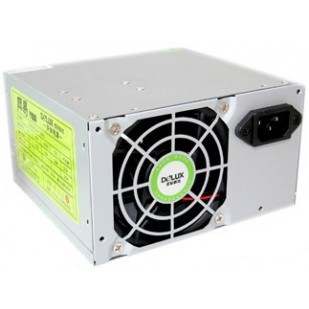 SURSA  Delux   450W, Fan 8cm, Conector 20+4 pini, 2xSATA, 2xMolex, Switch ON/OFF - Fabricat in China (DLP-23MS)