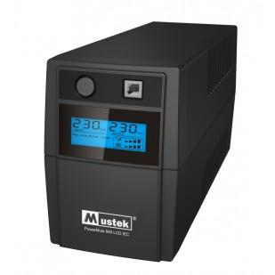 UPS  MUSTEK PowerMust  848 LCD (850VA) Line Interactive, IEC (include timbru verde 3 lei)