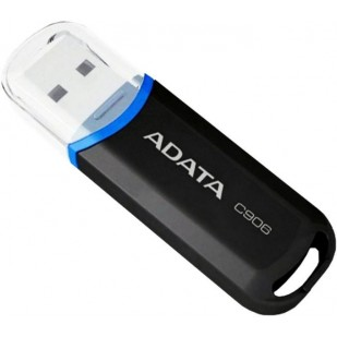 Memorie USB Adata, model: C906, 16 GB, USB 2.0, Negru