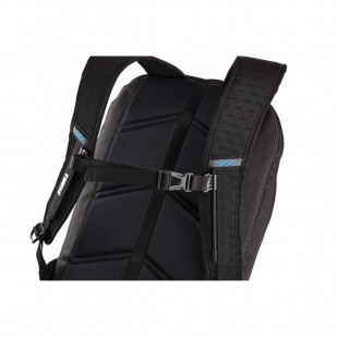 "Rucsac urban cu compartiment laptop Thule Crossover 32L Black, Professional Backpack pentru 15"" Apple MacBook iPad pocket, w Safe-zone"
