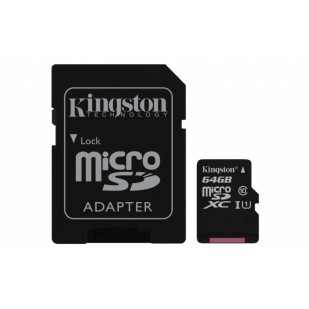 SECURE DIGITAL CARD MICRO. 64G KINGSTON (class10) (SDC10G2/64GB)