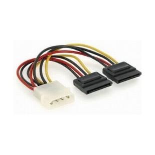 Cablu Alimentare 2x SATA, lungime cablu: 15cm, adaptor intern, bulk, GEMBIRD (CC-SATA-PSY)