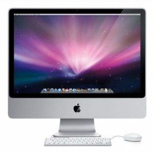 "APPLE iMac A1224; 20""; Intel Core 2 Duo T7300 2 GHz; 1 GB RAM; 250 GB HDD; ATI Mob Radeon HD 2400 XT 256MB; DVDRW; All In One"