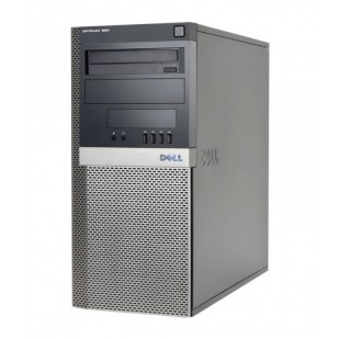 Dell, OPTIPLEX 960,  Intel Core 2 Quad Q6600, 2.40 GHz, HDD: 320 GB, RAM: 4 GB, video: Intel GMA 4500; TOWER
