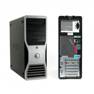 Dell, PRECISION WORKSTATION T7500, Intel Xeon E5530, 2.40 GHz; 4 GB; 500 GB; TOWER