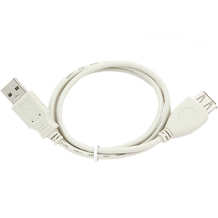 "Cablu PC; USB A M la USB A F; 0.7m; ""CC-USB2-AMAF-75CM"""