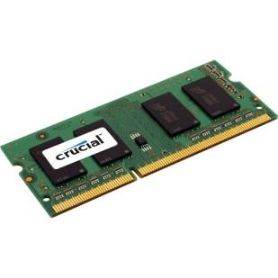 Memorie RAM: 8192 MB; DD-RAM 3; 1600MHz; CRUCIAL; tip memorie: LAPTOP