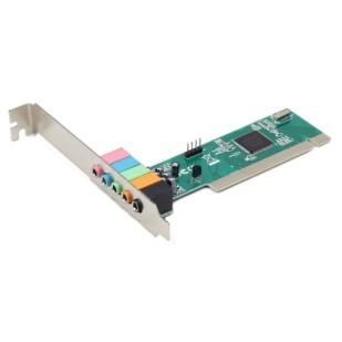 """Placa de sunet GEMBIRD (5.1); PCI; """"SC-5.1-3"""""""