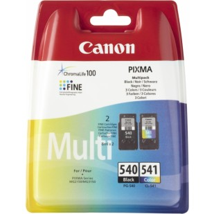 Cartus cerneala Original Canon PG-540 + CL-541 (Negru + Color), compatibil MG2150/3150 (BS5225B006AA)
