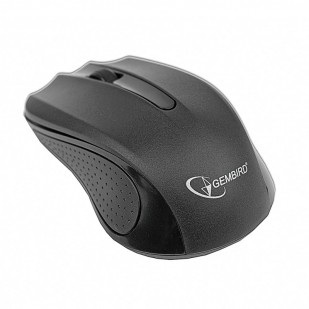 Mouse optic Wireless GEMBIRD, 1200dpi, Black (MUSW-101)