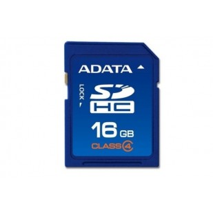 Secure Digital Card SDHC 16GB class4 ADATA (ASDH16GCL4-R)