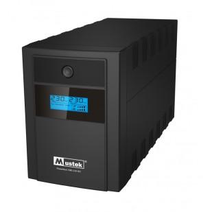 UPS  MUSTEK PowerMust 1590 LCD (1500VA) Line Interactive, IEC (include timbru verde 3 lei)