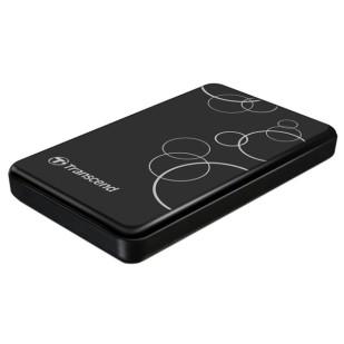 """HDD TRANSCEND EXTERN 2.5"""" USB 3.0  500GB StoreJet2.5"""" A3K Black (TS500GSJ25A3K)"""