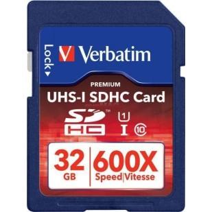 SECURE DIGITAL CARD SDHC 32GB (Class 10) PRO UHS-I Verbatim (47021)