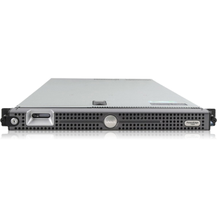 "DELL PowerEdge 1950; 2x QuadCore Intel Xeon X5355, 2.6 GHz; 8 GB RAM; DVD; RAID Controller; PERC 5/I; 4x 2,5"" HDD bay; size: 1U"